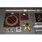 "New Vito's 2"" Banshee Rear Setup Axle Carrier Rotor Hubs Sprocket 43 Tooth"