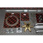 New Vito's Banshee Rear Setup Axle Carrier Rotor Hubs Sprocket 42 Tooth