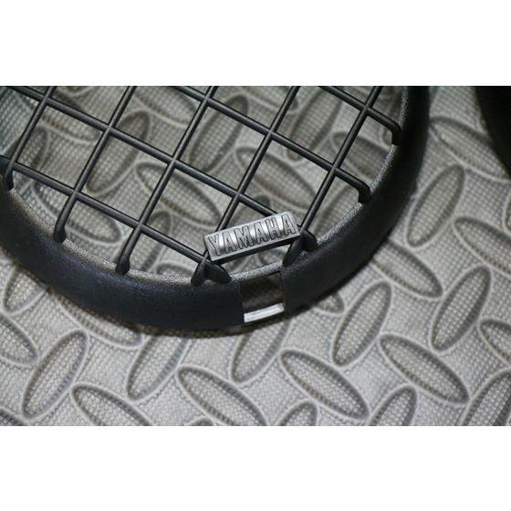 BRAND NEW Yamaha Banshee Warrior OEM factory plastic headlight grills 1987-1999