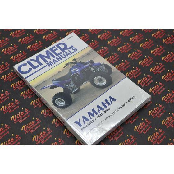 Clymer ATV/UTV Repair Manuals M486-6 YFZ350 Banshee 1987-2006