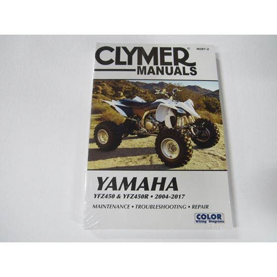 YFZ450 MANUAL