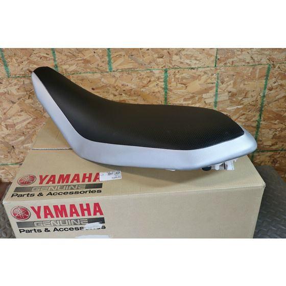 New OEM factory Complete Seat 2006-2021 Yamaha Raptor 700 700r foam BLACK SILVER